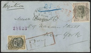 Sale Number 1204, Lot Number 269, Jamaica thru St. HelenaNORTH BORNEO, 1894, 6c Brown Olive & Black, 8c Lilac & Black (63-64; SG 73-74), NORTH BORNEO, 1894, 6c Brown Olive & Black, 8c Lilac & Black (63-64; SG 73-74)