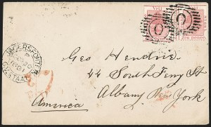Sale Number 1204, Lot Number 270, Jamaica thru St. HelenaORANGE RIVER COLONY, 1871, 6p Rose (8a; SG 5), ORANGE RIVER COLONY, 1871, 6p Rose (8a; SG 5)