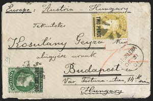 Sale Number 1204, Lot Number 277, Jamaica thru St. HelenaST. HELENA, 1876, 2p on 6p Yellow, Short Bar, 1sh on 6p Deep Green, Long Bar, Perf 14x12-1/2 (26, 32; SG 22, 26), ST. HELENA, 1876, 2p on 6p Yellow, Short Bar, 1sh on 6p Deep Green, Long Bar, Perf 14x12-1/2 (26, 32; SG 22, 26)