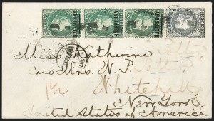 Sale Number 1204, Lot Number 278, Jamaica thru St. HelenaST. HELENA, 1884, -1/2p on 6p Green, 17mm Words (33; SG 35), ST. HELENA, 1884, -1/2p on 6p Green, 17mm Words (33; SG 35)