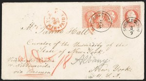 Sale Number 1204, Lot Number 296, Austria incl. Used in the LevantAUSTRIA, 1874, 5kr Rose, Ty. III (36), AUSTRIA, 1874, 5kr Rose, Ty. III (36)