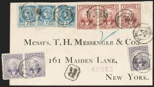 Sale Number 1204, Lot Number 434, Haiti thru PeruHAITI, 1882, 7c Deep Blue on Grayish (12), HAITI, 1882, 7c Deep Blue on Grayish (12)