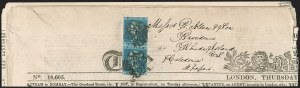 Sale Number 1204, Lot Number 474, Great BritainGREAT BRITAIN, 1841, 2p Blue (4; SG 14), GREAT BRITAIN, 1841, 2p Blue (4; SG 14)