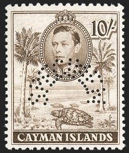 "Sale Number 1204, Lot Number 714, Cayman Islands thru Falkland IslandsCAYMAN ISLANDS, 1938-47, -1/4p-10sh King George VI Views, Perforated ""Specimen"" (100S-111S, 114S-115S; SG 115s-126s), CAYMAN ISLANDS, 1938-47, -1/4p-10sh King George VI Views, Perforated ""Specimen"" (100S-111S, 114S-115S; SG 115s-126s)"