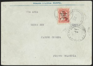 Sale Number 1204, Lot Number 951, Colombia Air Post - 1919 Knox Martin IssueCOLOMBIA, 1919, 2c Knox Martin Air Post (C1), COLOMBIA, 1919, 2c Knox Martin Air Post (C1)