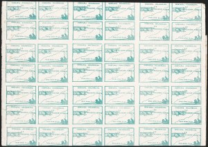 Sale Number 1204, Lot Number 969, Colombia Air Post - Other 1920 CCNA IssuesCOLOMBIA, 1920, 10c Green, Air Post (C11; Sanabria 11), COLOMBIA, 1920, 10c Green, Air Post (C11; Sanabria 11)