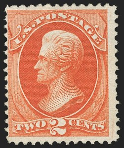 Sale Number 1205, Lot Number 2048, 1870-90 Bank Note Issues2c Carmine Vermilion, Special Printing (180), 2c Carmine Vermilion, Special Printing (180)
