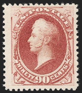 Sale Number 1205, Lot Number 2051, 1870-90 Bank Note Issues90c Dull Carmine, Special Printing (202), 90c Dull Carmine, Special Printing (202)
