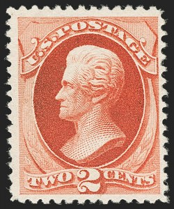 Sale Number 1205, Lot Number 2052, 1870-90 Bank Note Issues2c Scarlet Vermilion, Special Printing (203), 2c Scarlet Vermilion, Special Printing (203)