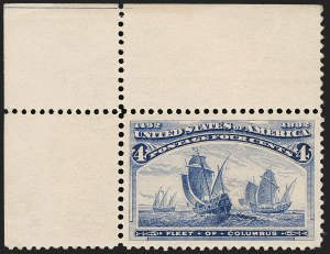 Sale Number 1205, Lot Number 2059, 1893 Columbian Issue4c Columbian (233), 4c Columbian (233)