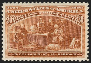 Sale Number 1205, Lot Number 2063, 1893 Columbian Issue30c Columbian (239), 30c Columbian (239)