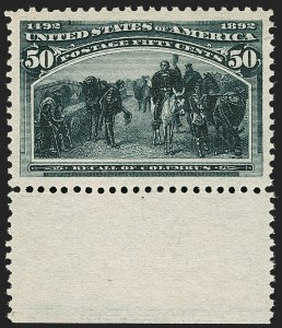 Sale Number 1205, Lot Number 2064, 1893 Columbian Issue50c Columbian (240), 50c Columbian (240)