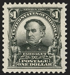 Sale Number 1205, Lot Number 2079, 1908-15 Issues$1.00 Black (311), $1.00 Black (311)