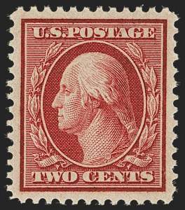 Sale Number 1205, Lot Number 2080, 1908-15 Issues2c Carmine, Bluish (358), 2c Carmine, Bluish (358)