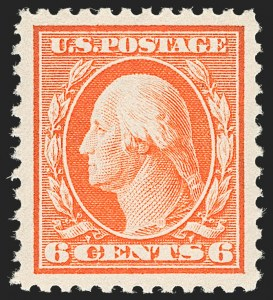 Sale Number 1205, Lot Number 2096, 1916-22 and Later Issues6c Red Orange (506), 6c Red Orange (506)