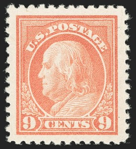 Sale Number 1205, Lot Number 2097, 1916-22 and Later Issues9c Salmon Red (509), 9c Salmon Red (509)