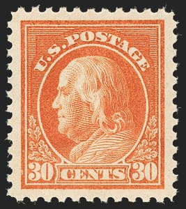 Sale Number 1205, Lot Number 2098, 1916-22 and Later Issues30c Orange Red (516), 30c Orange Red (516)