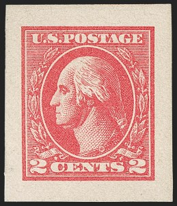 Sale Number 1205, Lot Number 2099, 1916-22 and Later Issues2c Carmine, Ty. VII, Imperforate (534B), 2c Carmine, Ty. VII, Imperforate (534B)