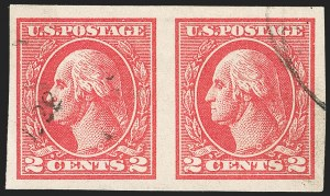 Sale Number 1205, Lot Number 2100, 1916-22 and Later Issues2c Carmine, Ty. VII, Imperforate (534B), 2c Carmine, Ty. VII, Imperforate (534B)