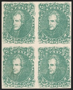 Sale Number 1206, Lot Number 1000, Confederate States: General Issues off Cover2c Green (3), 2c Green (3)