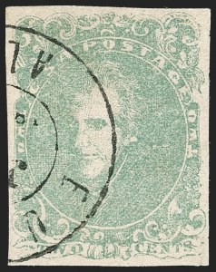 Sale Number 1206, Lot Number 1004, Confederate States: General Issues off Cover2c Green (3), 2c Green (3)