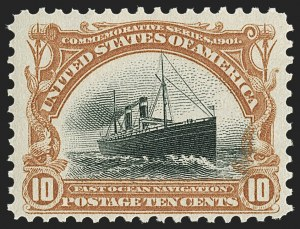 Sale Number 1206, Lot Number 1097, U.S. Stamp Group Lots by Issue1c-10c Pan-American (294-299), 1c-10c Pan-American (294-299)