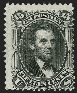 Sale Number 1206, Lot Number 125, 1867-68 Grilled Issue (Scott 79-101)15c Black, F. Grill (98), 15c Black, F. Grill (98)