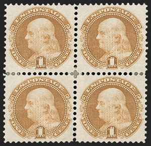 Sale Number 1206, Lot Number 141, 1869 Pictorial Issue (Scott 112-122)1c Buff (112), 1c Buff (112)