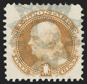 Sale Number 1206, Lot Number 142, 1869 Pictorial Issue (Scott 112-122)1c Buff (112), 1c Buff (112)