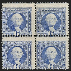 Sale Number 1206, Lot Number 148, 1869 Pictorial Issue (Scott 112-122)6c Ultramarine (115), 6c Ultramarine (115)