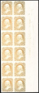 Sale Number 1206, Lot Number 15, Essays and Proofs30c Orange, Plate Proof on Card (71P4), 30c Orange, Plate Proof on Card (71P4)