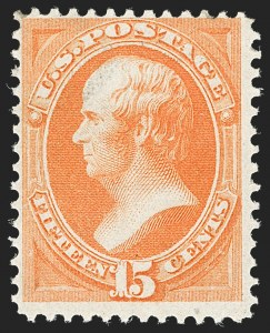 Sale Number 1206, Lot Number 203, 1870-73 Bank Note Issues (Scott 134-166)15c Orange, H. Grill (141), 15c Orange, H. Grill (141)