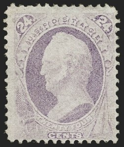 Sale Number 1206, Lot Number 209, 1870-73 Bank Note Issues (Scott 134-166)24c Purple (153), 24c Purple (153)