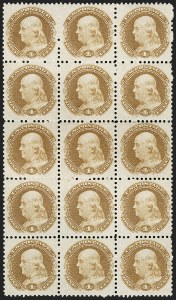 Sale Number 1206, Lot Number 22, Essays and Proofs1c Buff, Small Numeral, Plate Essay on Stamp Paper, Perforated 12, Grilled (112-E4c), 1c Buff, Small Numeral, Plate Essay on Stamp Paper, Perforated 12, Grilled (112-E4c)