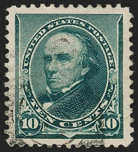 Sale Number 1206, Lot Number 237, 1890-93 Issue (Scott 219-229)10c Green (226), 10c Green (226)