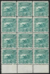 Sale Number 1206, Lot Number 24, Essays and Proofs2c Green, Small Numeral, Plate Essay on Stamp Paper, Perforated 12, Grilled (113-E3e). Mint N.H, 2c Green, Small Numeral, Plate Essay on Stamp Paper, Perforated 12, Grilled (113-E3e). Mint N.H