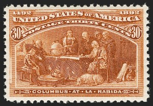 Sale Number 1206, Lot Number 249, 1893 Columbian Issue (Scott 230-245)30c Columbian (239), 30c Columbian (239)