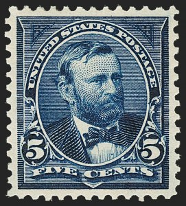 Sale Number 1206, Lot Number 313, 1897-1903 Change of Colors (Scott 279-284)5c Dark Blue (281), 5c Dark Blue (281)
