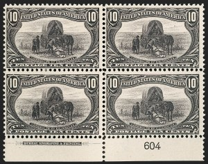Sale Number 1206, Lot Number 324, 1898 Trans-Mississippi Issue (Scott 285-293)10c Trans-Mississippi (290), 10c Trans-Mississippi (290)