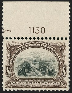 Sale Number 1206, Lot Number 337, 1901 Pan-American Issue (Scott 294-299)8c Pan-American (298), 8c Pan-American (298)