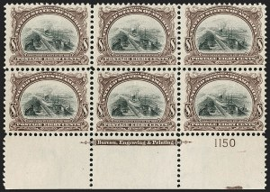 Sale Number 1206, Lot Number 338, 1901 Pan-American Issue (Scott 294-299)8c Pan-American (298), 8c Pan-American (298)