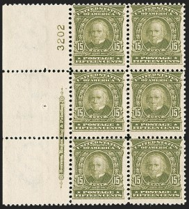 Sale Number 1206, Lot Number 348, 1902-08 Issues (Scott 300-320)15c Olive Green (309), 15c Olive Green (309)