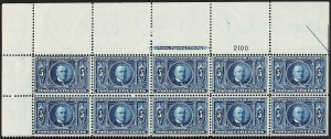 Sale Number 1206, Lot Number 376, 1904 Louisiana Purchase Issue (Scott 323-327)5c Louisiana Purchase (326), 5c Louisiana Purchase (326)