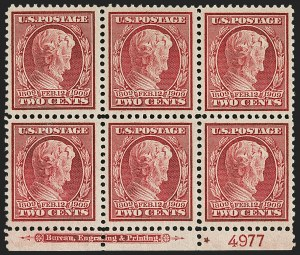 Sale Number 1206, Lot Number 408, 1909 Commemorative Issues (Scott 367-373)2c Lincoln, Bluish (369), 2c Lincoln, Bluish (369)