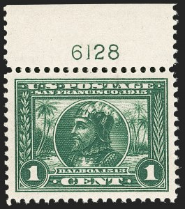 Sale Number 1206, Lot Number 432, 1913-15 Panama-Pacific Issue (Scott 397-404)1c Panama-Pacific (397), 1c Panama-Pacific (397)