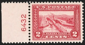 Sale Number 1206, Lot Number 433, 1913-15 Panama-Pacific Issue (Scott 397-404)2c Panama-Pacific (398), 2c Panama-Pacific (398)