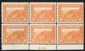 Sale Number 1206, Lot Number 441, 1913-15 Panama-Pacific Issue (Scott 397-404)10c Orange, Panama-Pacific (400A), 10c Orange, Panama-Pacific (400A)