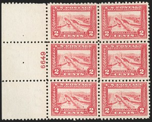 Sale Number 1206, Lot Number 442, 1913-15 Panama-Pacific Issue (Scott 397-404)2c Panama-Pacific, Perf 10 (402), 2c Panama-Pacific, Perf 10 (402)