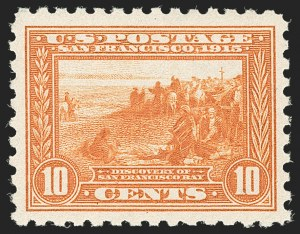 Sale Number 1206, Lot Number 445, 1913-15 Panama-Pacific Issue (Scott 397-404)10c Panama-Pacific, Perf 10 (404), 10c Panama-Pacific, Perf 10 (404)