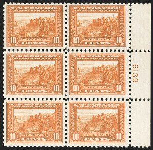 Sale Number 1206, Lot Number 446, 1913-15 Panama-Pacific Issue (Scott 397-404)10c Panama-Pacific, Perf 10 (404), 10c Panama-Pacific, Perf 10 (404)